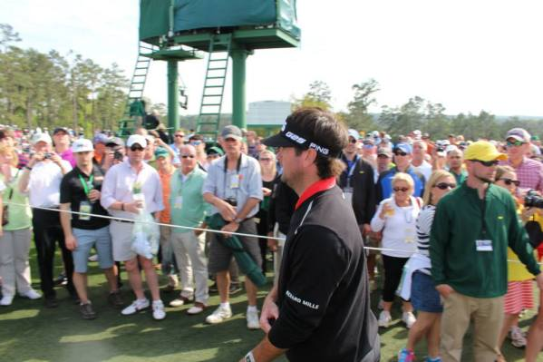 Bubba Watson. The eventual champion.